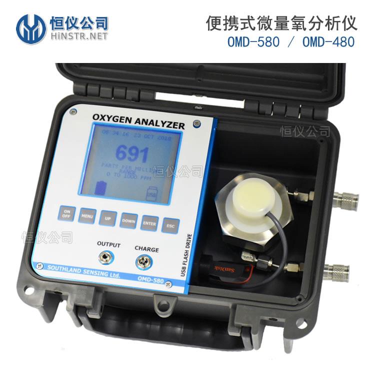 便携式氧气分析仪|美国SSO2氧气检测仪(OMD-580/OMD-480)